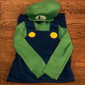 Luigi costume in (s/p 4-6)